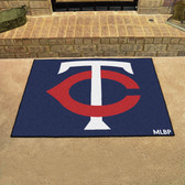 "Minnesota Twins All-Star Mat 33.75""x42.5"""