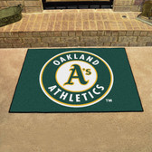 "Oakland Athletics All-Star Mat 33.75""x42.5"""