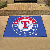 "Texas Rangers All-Star Mat 33.75""x42.5"""