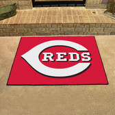 "Cincinnati Reds All-Star Mat 33.75""x42.5"""