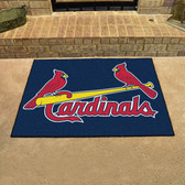 "St. Louis Cardinals All-Star Mat 33.75""x42.5"""