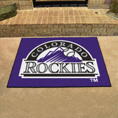 "Colorado Rockies All-Star Mat 33.75""x42.5"""