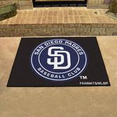 "San Diego Padres All-Star Mat 33.75""x42.5"""