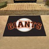 "San Francisco Giants All-Star Mat 33.75""x42.5"""