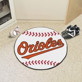 "Baltimore Orioles Baseball Mat 27"" diameter"