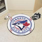 "Toronto Blue Jays Baseball Mat 27"" diameter"