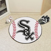"Chicago White Sox Baseball Mat 27"" diameter"