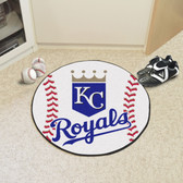 "Kansas City Royals Baseball Mat 27"" diameter"