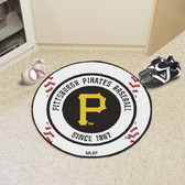 "Pittsburgh Pirates Baseball Mat 27"" diameter"