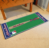 "Atlanta Braves Baseball Runner 30""x72"""