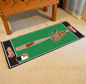 "Baltimore Orioles Baseball Runner 30""x72"""