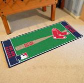 """Boston Red Sox Baseball Runner 30""""x72"""""""