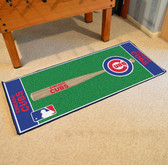 "Chicago Cubs Baseball Runner 30""x72"""