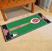"""Cincinnati Reds Baseball Runner 30""""x72"""""""