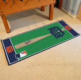 "Detroit Tigers Baseball Runner 30""x72"""