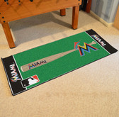"Miami Marlins Baseball Runner 30""x72"""