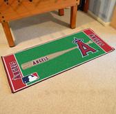 "Los Angeles Angels Baseball Runner 30""x72"""