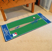 "Los Angeles Dodgers Baseball Runner 30""x72"""
