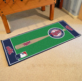 "Minnesota Twins Baseball Runner 30""x72"""