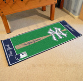 "New York Yankees Baseball Runner 30""x72"""