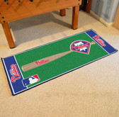 "Philadelphia Phillies Baseball Runner 30""x72"""