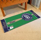 "San Diego Padres Baseball Runner 30""x72"""
