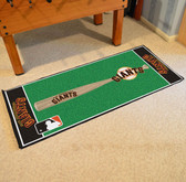 "San Francisco Giants Baseball Runner 30""x72"""