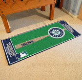 "Seattle Mariners Baseball Runner 30""x72"""
