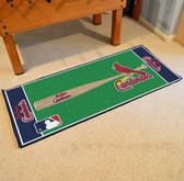 "St. Louis Cardinals Baseball Runner 30""x72"""