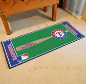 "Texas Rangers Baseball Runner 30""x72"""