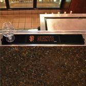 "San Francisco Giants Drink Mat 3.25""x24"""