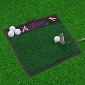 "Atlanta Braves Golf Hitting Mat 20"" x 17"""