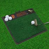 "San Francisco Giants Golf Hitting Mat 20"" x 17"""