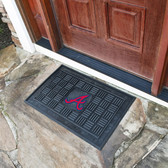 Atlanta Braves Medallion Door Mat