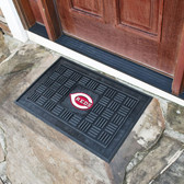 Cincinnati Reds Medallion Door Mat