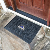 Colorado Rockies Medallion Door Mat