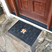 Houston Astros Medallion Door Mat