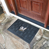Milwaukee Brewers Medallion Door Mat