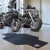 """Chicago Cubs Motorcycle Mat 82.5"""" L x 42"""" W"""