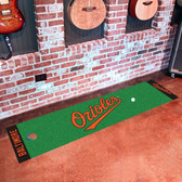 Baltimore Orioles Putting Green Runner