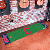 "Cleveland Indians ""Block-C"" Putting Green Runner"