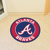 Atlanta Braves Roundel Mat