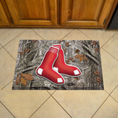 "Boston Red Sox Scraper Mat 19""x30"" - Camo"