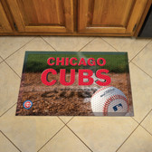 "Chicago Cubs Scraper Mat 19""x30"" - Ball"