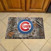 """Chicago Cubs Scraper Mat 19""""x30"""" - Camo"""