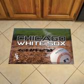 "Chicago White Sox Scraper Mat 19""x30"" - Ball"