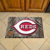 """Cincinnati Reds Scraper Mat 19""""x30"""" - Camo"""