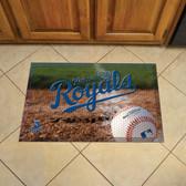 """Kansas City Royals Scraper Mat 19""""x30"""" - Ball"""