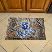 """Kansas City Royals Scraper Mat 19""""x30"""" - Camo"""