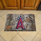 """Los Angeles Angels Scraper Mat 19""""x30"""" - Camo"""